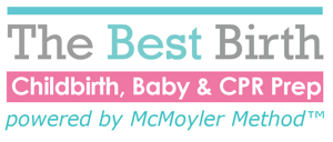 The Best Birth Logo